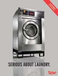 Washer-Extractors, Soft Mount, High Performance Models ... - CPEC