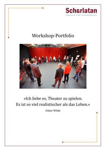 unser Workshop-Portfolio - Scharlatan theater für Veränderung