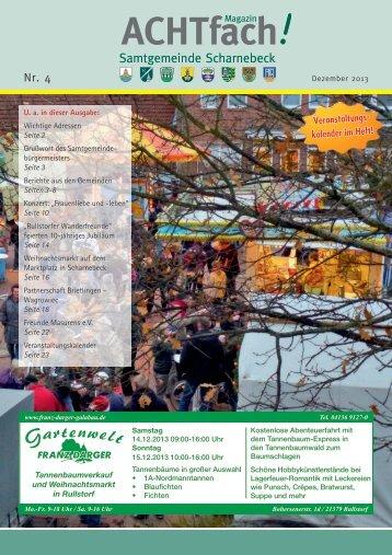 ACHTfach Ausgabe Dezember 2013 (pdf 10,61 MB)