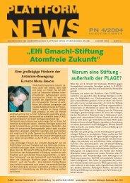 Plattform News 2004-04 - Plage