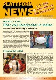 Plattform News 03/2008 - Plage