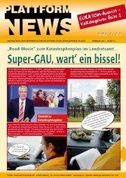 Plattform News 1/2011 - Plage