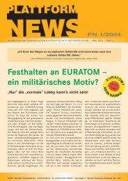 Plattform News 2004-01 - Plage