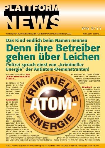 Plattform News 2/2011 - Plage