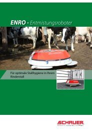 ENRO - Entmistungsroboter - Schauer Agrotronic GmbH
