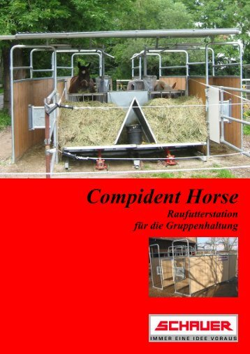 Compident Horse Raufutterstation - Schauer Agrotronic GmbH