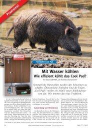 Wir testeten das neue Verfahren. - Schauer Agrotronic GmbH