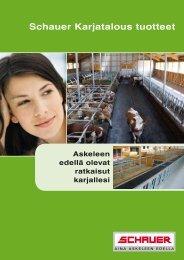 Schauer Karjatalous tuotteet - Schauer Agrotronic GmbH
