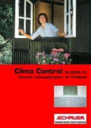 Clima Control SLC3005/10 - Schauer Agrotronic GmbH