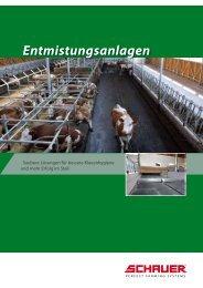 Hydro-Entmistungsanlagen - Schauer Agrotronic GmbH