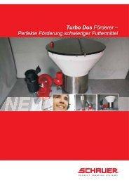 Turbo Dos Förderer - Schauer Agrotronic GmbH