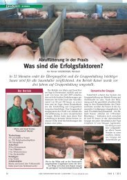 Abruffütterung in der Praxis - Schauer Agrotronic GmbH