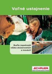 Schauer Laufstall_slowakisch.indd - Schauer Agrotronic GmbH