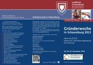 Flyer mit Programm (PDF 1,09 MB) - Landkreis Schaumburg