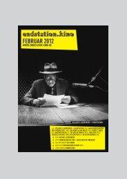 FEBRUAR 2012 - Endstation Kino