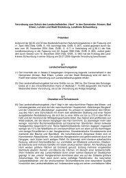 04 LSG Verordnung Harrl - Landkreis Schaumburg