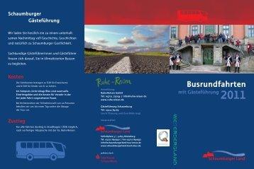 Busrundfahrten - Schaumburger Land