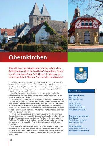Obernkirchen - Schaumburger Land