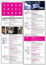 Mai 2011 - Schauspiel Essen