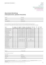 Download 479 KB - Schauspiel Essen
