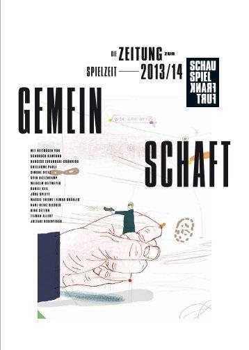 zeitungzur - Schauspiel Frankfurt