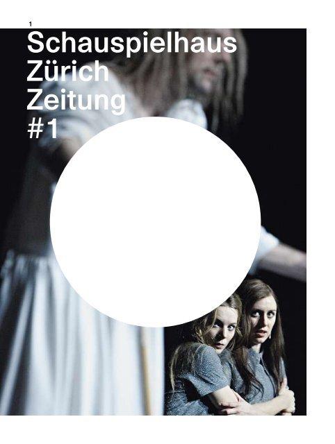 Schauspielhaus Zürich Zeitung #1