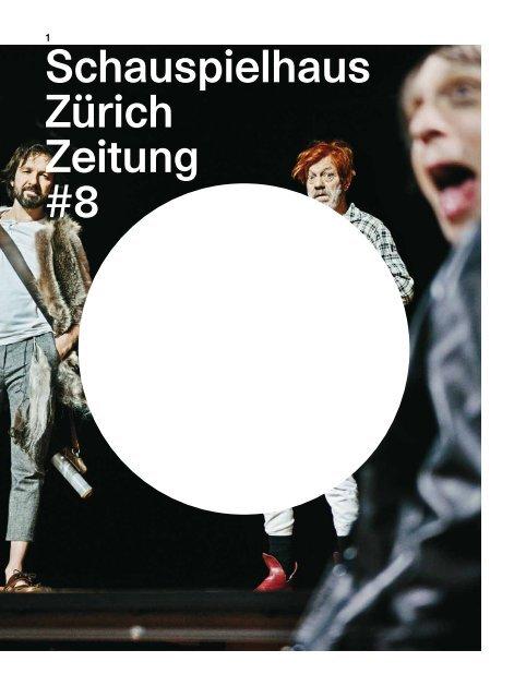 Schauspielhaus Zürich Zeitung #8
