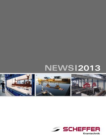 NEWS | 2013 - Scheffer Krantechnik