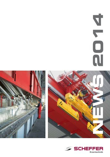 Scheffer News 1/2014 - Scheffer Krantechnik