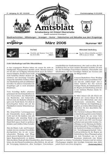 März 2006 - auf Scheibenberg.de