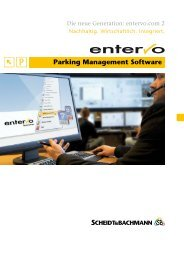 entervo.com 2 Prospekt - Scheidt & Bachmann GmbH
