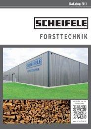 Forstkatalog 2013 - scheifele.de