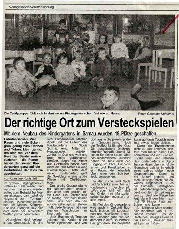 Der richtige Ort zum Versteckspielen - Scheld-Bau GmbH, das ...