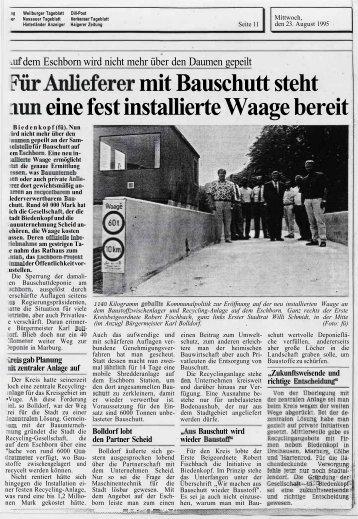1995(Größe 520 KB) - Scheld-Bau GmbH, das Bauunternehmen ...