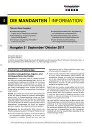 Oktober 2011 - Steuerberater Schelly Hamburg