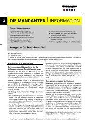 Juni 2011 - Steuerberater Schelly Hamburg