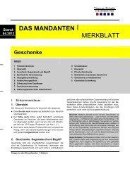 MERKBLATT - Steuerberater Schelly Hamburg