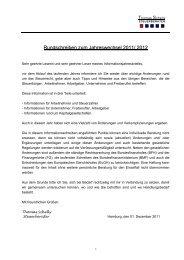 Informationsbrief zum Jahreswechsel 2011/ 2012 - Steuerberater ...