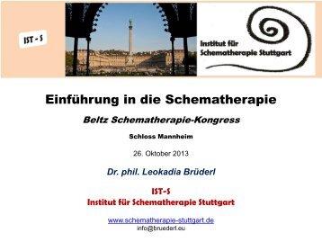 Das Schematherapie - Institut für Schematherapie Stuttgart