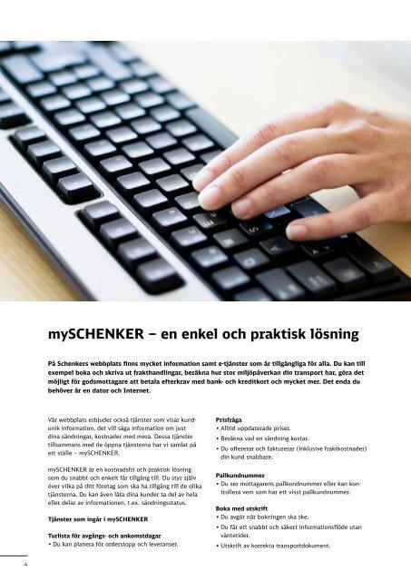 Broschyr - Elektroniska lösningar - Schenker