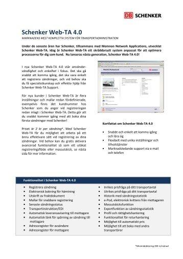 Broschyr Schenker Web-TA (PDF)
