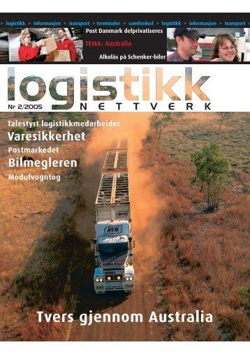 2005-2 Logistikk Nettverk - Schenker