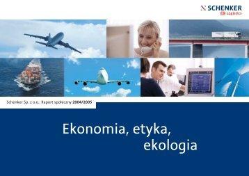 Ekonomia, etyka, ekologia - Schenker