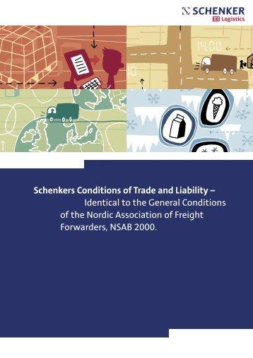 General Conditions - Schenker