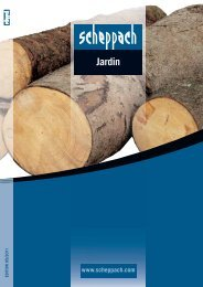 Catalogue scheppach Jardin
