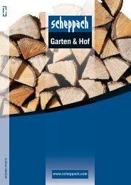 Katalog Garten und Hof - Scheppach