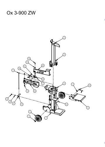 Ox 3-900 ZW - Scheppach