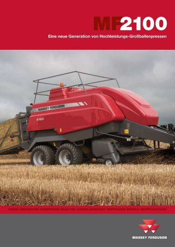 Prospekt MF 2100 - Landtechnik Scherndl-Figl