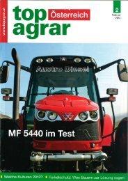 Traktortest Massey Ferguson 5440 top agrar Österreich 2/2012 (PDF ...