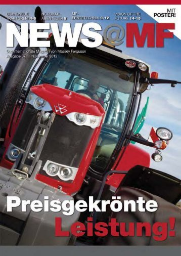 News@MF Ausgabe 37 (PDF 5,2 MB) - Landtechnik Scherndl-Figl